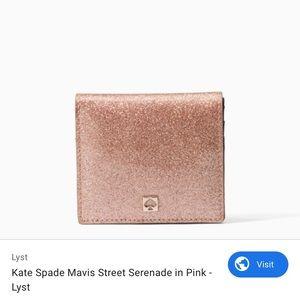 Kate Spade Mavis Street Serenade Wallet in Pink